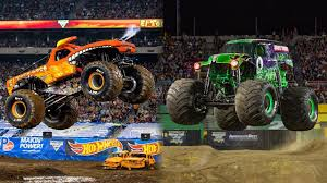 The Monster Jam Garage Is A Supersize Hotbed Of American Ingenuity ...