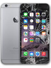 iPhone 6 Plus Screen Replacement Silver Ring