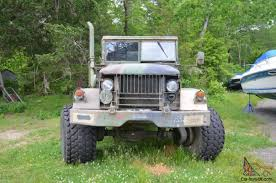 100 Deuce And A Half Truck 1972 Bobbed And A Military