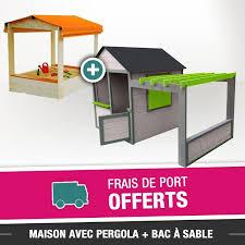 bac a avec toit maison de jardin avec pergola bac à avec toit couleur garden