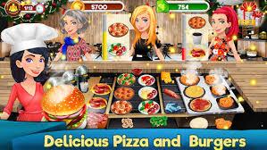 jeux de cuisine burger restaurant télécharger jeux cuisine restaurant burger craze pizza sushi apk