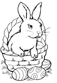 Baby Easter Bunny Coloring Pages – Color Bros