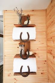 Organize Your Bathroom With This Rustic Storage Solution Perfect For Adding A Cabin Inspired
