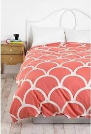 Coral Colored Bedding by Papercut Duvet Cover Merry Christmas Happy Birthday