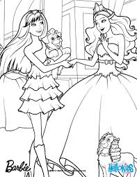 Tori And Keiras Pets Barbie Printable Color Online Print