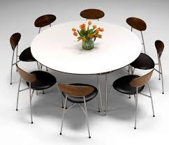 Round Dining Room Sets For 8 by Contemporary Round Dining Room Tables 1000 Images About Round