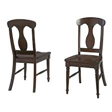 Home Styles Espresso Bermuda Dining Chair Pair