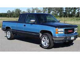 1994 GMC Sierra For Sale | ClassicCars.com | CC-901633 Gmc Sierra 1500 Questions How Many 94 Gt Extended Cab Used 1994 Pickup Parts Cars Trucks Pick N Save Chevrolet Ck Wikipedia For Sale Classiccarscom Cc901633 Sonoma Found Fuchsia 1gtek14k3rz507355 Green Sierra K15 On In Al 3500 Hd Truck Sle 4x4 Extended 108889 Youtube Kendale Truck 43l V6 With Custom Exhaust Startup Sound Ive Got A Gmc 350 It Runs 1600px Image 2