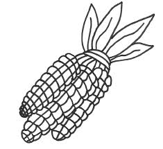 Free Coloring Pages Thanksgiving Indian Corn