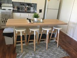 Kmart Camping Table And Chairs by Ikea Hack Kitchen Island 2x Cube Bookshelves 80 00 Ikea Light
