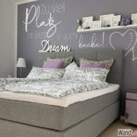 schlafzimmer sprüche für d wand verleihen dir nicht nur