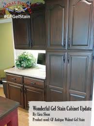 Gel Stain Cabinets Pinterest by 100 General Finishes Java Gel Stain Kitchen Cabinets