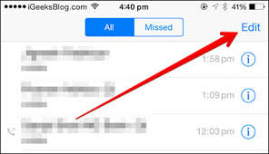 How to Delete iPhone Call History or Backup Call Logs
