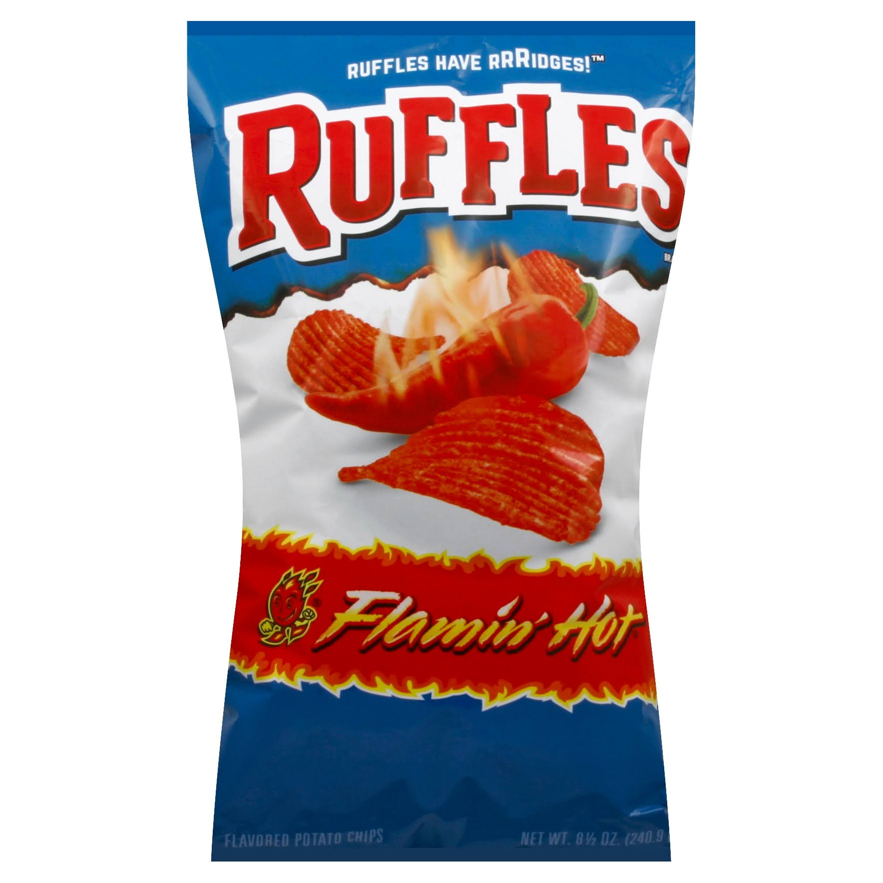 Ruffles Flaming Hot Potato Chips - 8.5oz