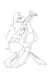 Sunset Shimmer Equestria Girl Coloring Pages My Little Pony