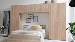 bettüberbau mrk schlafzimmer überbauschrank in eiche sägerau