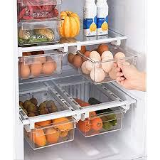 natur pur kühlschrank organizer ordnungssystem zur aufbewahrung küche aufbewahrungsbox transparent lebensmittel frischhalte kunststoff kitchen