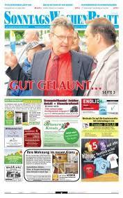 ausgabe vom 26 05 2013 beim sonntagswochenblatt