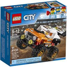 100 Lego Monster Truck Games 60146 STUNT TRUCK Lego Set NEW City Town Train Legos SEALED Nisb