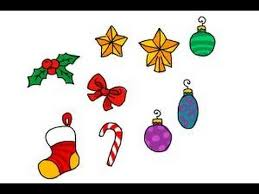 How To Draw Christmas Decorations