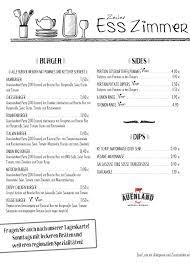 zeiler esszimmer home zeil am menu prices