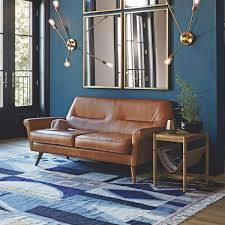 Lorenzo 4piece Leather Living Room Set