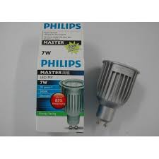 philips light source master dimmable 7w led spot lv gu10 7 50w led