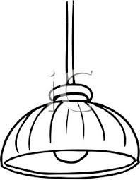 Lamp Clipart Black And White 0511 0905 2621 4942