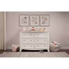 Sorelle Verona Double Dresser Combo French White by Kids U0027 Dressers U0026 Chests