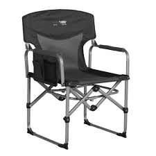 Black Wolf Compact Directors Chair - Charcoal Directors Chairs With Folding Side Table Youtube Mings Mark Stylish Camping Brown Full Back Chair Costway Compact Alinum Cup Deluxe Tall Director W And Holder Side Table Cooler Old Man Emu Adventure 4x4 With Black 156743 Rv Outdoor Meerkat Bushtec Heavy Duty Marquee Alinium Home Portable Pnic Set Double Chairumbrellatable Blue Shop Outsunny Steel Camp