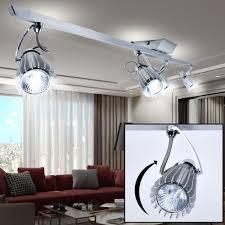 light decken leuchte aluminium spot strahler beweglich