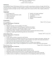 Mechanic Assistant Sample Resume Aircraft Remarkable Plant Engineer Template With Electrical Maintenance For Technician