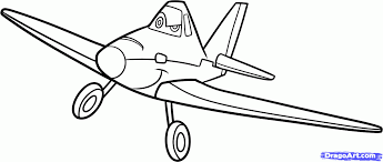 Print Aeroplane Disney Planes Coloring Pages Airplane Dusty Pencil And In Color