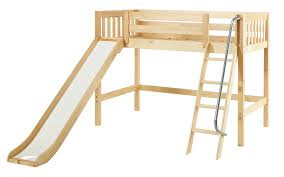 Ikea Full Size Loft Bed by Loft Bed With Slide Ikea Monstermathclub Com