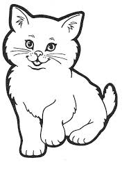 Cute Coloring Pages For Girls Cats