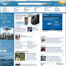 MSN Home Page Gets a Major Face Lift