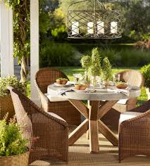 Dining Al Fresco, My New Tabletop Has Arrived And A Winner! ~ Home ... Pottery Barn Outdoor Fniture Cushion Covers Perfect Lighting In Fniture Wicker Chair Cushions Awesome Patio Ideas Tuscan Melbourne File Info Interior Wondrous Tables With L Nightstand Lounge Sets Saybrook Collection Rectangular Market Umbrella Solid Au Reviews Table Best Property Home Office And Stunning Contemporary Woven Rattan Sofa