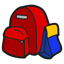 Lunch Box Clipart Backpack Of