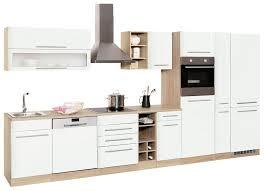 held möbel küchenzeile eton mit e geräten breite 390 cm kaufen otto