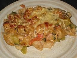 recette gratin de pates aux courgettes