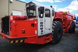 100 Beelman Trucking Sandvik TH430 Underground Haul Truck Brand New 4758 3172 OC
