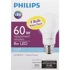 philips a19 medium led light bulb 461137 do it best