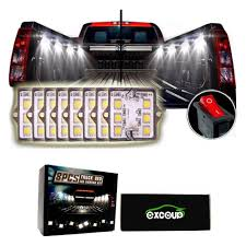 LED Lights For Truck Bed Led Lighting Kit With 48 Super Bright SMD ... Truck Bed Accsories Blight Bp Battery Powered Led Putco Strip Lighting Kit 186374 At 52017 Ford F150 Recon High Oput Cree Cargo Lumen Trbpodblk 8pod Lights Light Multi Color 4 To 6 Boogey Aliexpresscom Buy 8pc Waterproof Pickup K61 Xtl Technology Extreme Watch Led Install 2018 Operated With 48 Super Bright White Amazoncom