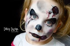 Scary Characters For Halloween by 100 Scary Halloween Face Paint Ideas Skeleton Face Paint