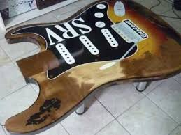 Stevie Ray Vaughan Number One Stratocaster GUITAR TABLE