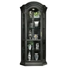Pulaski Oak Corner Curio Cabinet by Black Corner Curio Cabinet Roselawnlutheran