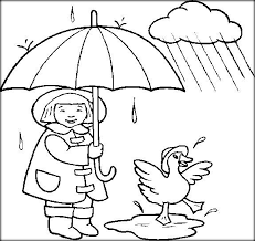 Weather Color Pages Free Printable Coloring Pictures For Preschool