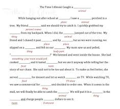 Halloween Mad Libs Esl by 316 Best Mad Libs Images On Pinterest Aquarium Christmas Sheets