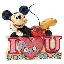 Jim Shore Halloween Disney by Jim Shore I Love You U2014mickey Mouse Figurine Figurines Hallmark