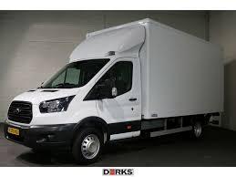 100 Box Truck Rv FORD Transit 350L Bakwagen Met Laadklep Closed Box Truck